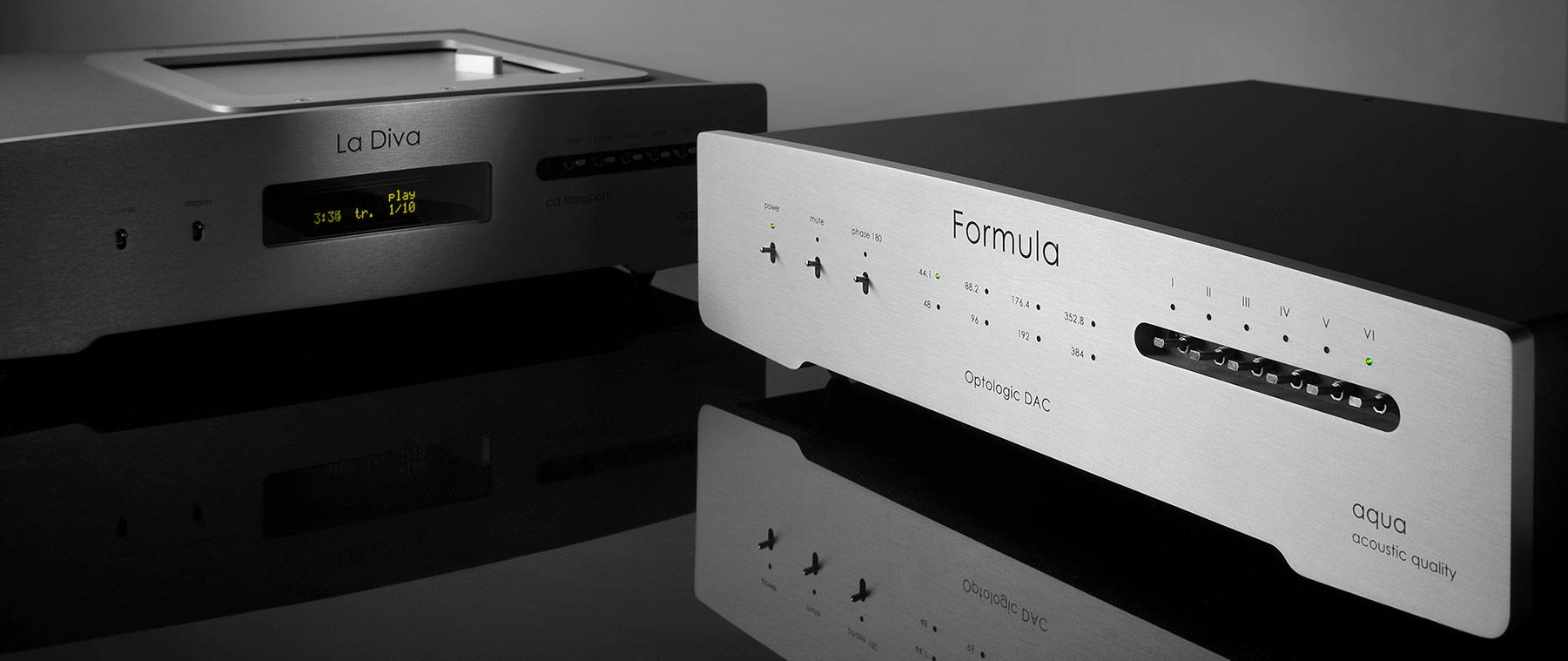 aqua acoustic quality hifi equipment